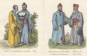 Japanesel Costume - Japan - Liou-Kiou - Priest - Gentleman - Prince