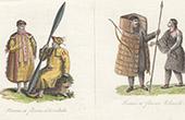 Traditionelle Kleidung - Eskimo - Russisch-Amerika - Alaska - Ounalaska - Tchoutski