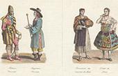 Traditionelle Kleidung - Mexiko - Militärkleidung - Richter - Peru - Frau - Lima