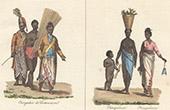 Sinhalese Costume - Chingulais (Ceylon - Sri Lanka)