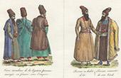 Traditionelle Kleidung in Perserreich - Legatus - Kleidung - Sommer - Winter (Iran)