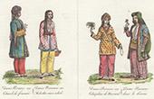 Traditionelle Kleidung in Perserreich - Frauenkleidungen - Tikmeh - Erkalig (Iran)
