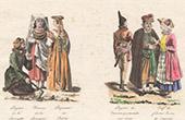 Traditionelle Kleidung - Polen - Litauen - Krakau - Bauer - Jude - J�disch (Polen)