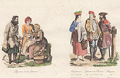 Traditionelle Kleidung - Polen - Litauen - Krakau - Bauer (Polen)