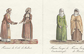Traditional Costume - Costumes of women - Turkey - Andros - Greece