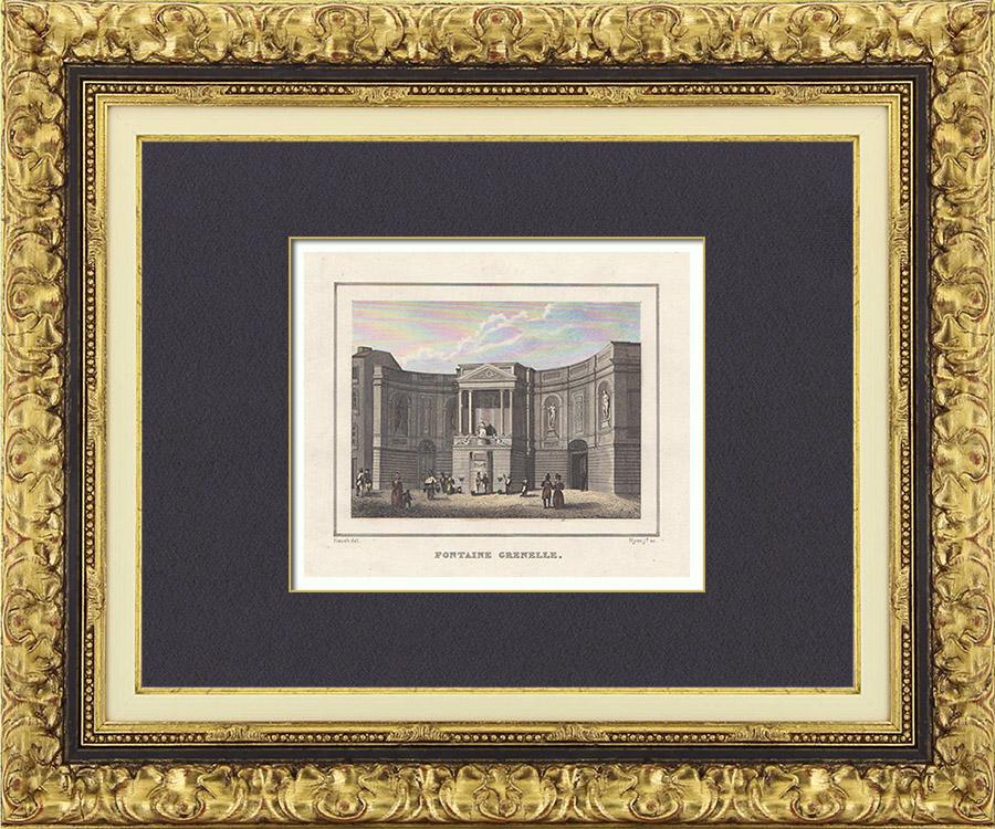 antique prints prints of chardon. Black Bedroom Furniture Sets. Home Design Ideas