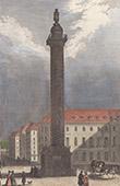 View of Paris - Vendôme Column - Napoleon I (France)