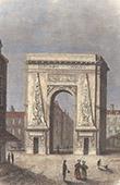Histoire  et Monuments de Paris - La Porte Saint Denis (France)
