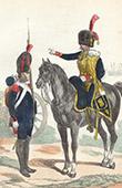 Soldat Napol�onien - Uniforme - Garde Imp�riale - Canonnier � pied - Officier d'Artillerie l�g�re