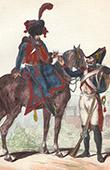 Soldat Napol�onien - Uniforme - Garde Imp�riale - Soldat d'Artillerie l�g�re - V�t�ran