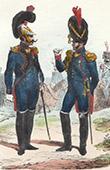 Soldat Napol�onien - Uniforme - Garde Imp�riale - Officier - Soldat - Artillerie - G�nie militaire