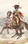 Napoleonic Soldier - Uniform - Imperial Guard - Eug�ne de Beauharnais - Horseback Hunter