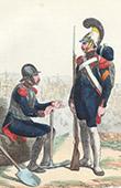 Soldat Napol�onien - Uniforme - Garde Imp�riale - G�nie militaire - Sapeur