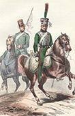 Soldat Napol�onien - Uniforme - Garde Imp�riale - Garde d'honneur - Eclaireur
