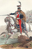 Napoleonic Soldier - Uniform - Imperial Guard - Marshal J�zef Antoni Poniatowski - Marshal of the Empire - Portrait on Horseback