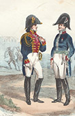 Napoleonischer Soldat - Uniform - Kaiserliche Garde - Armee Chirurg - Inspecteur aux Revues