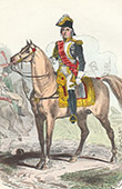 Napoleonic Soldier - Uniform - Imperial Guard - Marshal Jean-de-Dieu Soult - Marshal of the Empire - Skirmisher - Portrait on Horseback