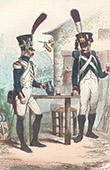 Soldat Napol�onien - Uniforme - Garde Imp�riale - Fusilier-Grenadier - Tirailleur-Grenadier