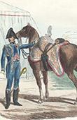 Soldat Napol�onien - Uniforme - Garde Imp�riale - Officier d'Ordonnance de l'Empereur Napol�on Ier