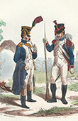 Napoleonic Soldier - Uniform - Imperial Guard - National Guard