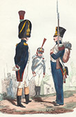 Napoleonic Soldier - Uniform - Imperial Guard - Officer - Skirmisher - Conscription