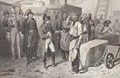 Napol�on Bonaparte et la Garde Imp�riale � l'�le d'Elbe