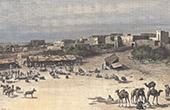 Market in Mogadischu (Somalia)