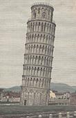 Ansicht von Pisa - Schiefer Turm von Pisa - Toskana - (Italien)