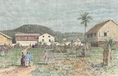 Haus des Gouverneurs in Siassi (Philippinen)