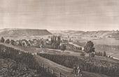Vue de Domr�my - Vall�e de la Meuse - Lorraine (France)