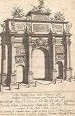 Florence - Arc de triomphe - XVIII�me Si�cle - Empereur Francesco I di Lorena (Italie)