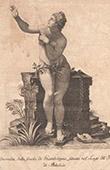Italiensk Skulptur - Andromeda - Giardino di Boboli - Florens (Giovan Battista Pieratti)