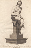 Italiensk Skulptur - Arkitektur - Allegori - Giardino di Boboli - Florens (Romolo del Tadda)