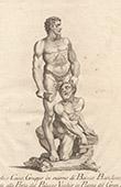 Italiensk Skulptur - Herkules och Kakus - Palazzo Vecchio - Florens (Baccio Bandinelli)