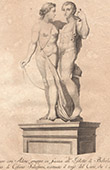 Italiensk Skulptur - Venus och Adonis - Giardino di Boboli - Florens (Cosimo Salvestrini)