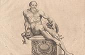 Italiensk Skulptur - Havsgud - Piazza del Gran Duca - Florens (Skola av Giovanni da Bologna)
