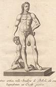 Italiensk Skulptur - Ung Herkules - Stradone - Giardino di Boboli - Florens