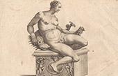 Italiensk Skulptur - Tethys - Grekisk mytologi - Font�n - Piazza di Gran Duca - Florens (Skola av Giovanni da Bologna)