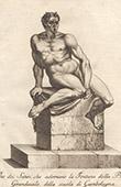 Italiensk Skulptur - Satyrer - Piazza del Gran Duca - Florens (Skola av Giovanni da Bologna)