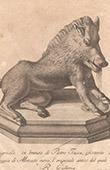 Italiensk Skulptur - Porcellino - Vildsvin - Fontana del Porcellino - Loggia del Mercato Nuovo - Florens (Pietro Tacca)