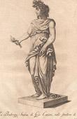 Italiensk Skulptur - Allegori - F�rsiktighet - Giardino di Boboli - Florens (Giovanni Cacchini)