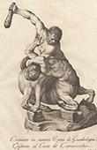 Italian Sculpture - Hercules beating the Centaur Nessus - Loggia della Signoria - Florence (Giambologna)
