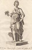 Italiensk Skulptur - Allegori - Sommar - Giardino di Boboli - Florens (Giovanni Cacchini)