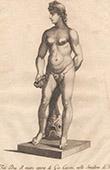 Italiensk Skulptur - Havsgud - Giardino di Boboli - Florens (Giovanni Battista Caccini)