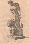 Italiensk Skulptur - Onore che Vince l'Inganno - Giardino di Boboli - Florens (Vincenzo Danti)