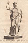 Italiensk Skulptur - Allegori - F�rsiktighet - Giardino di Boboli - Florens