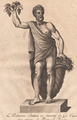 Italiensk Skulptur - Allegori - Höst - Ponte Santa Trinita - Florens (Giovanni Cacchini)