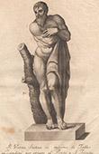 Italiensk Skulptur - Allegori - Vinter - Ponte Santa Trinita - Florens (Taddeo Landini)