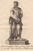 Italienischeskulptur - Evangelist Lukas - Orsanmichele - Florenz (Giovanni Bologna)