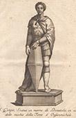 Italienischeskulptur - Hl. Georg - Orsanmichele - Florenz (Donatello)